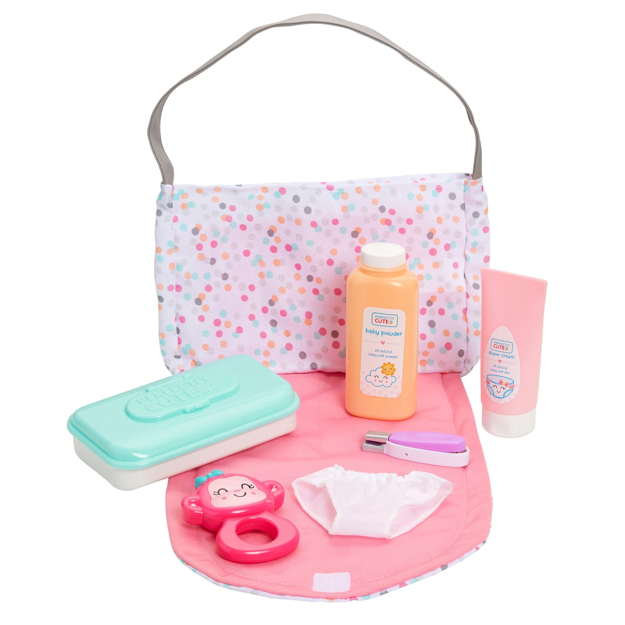 Perfectly Cute Just Like Mommy Baby Doll Diaper Bag Set