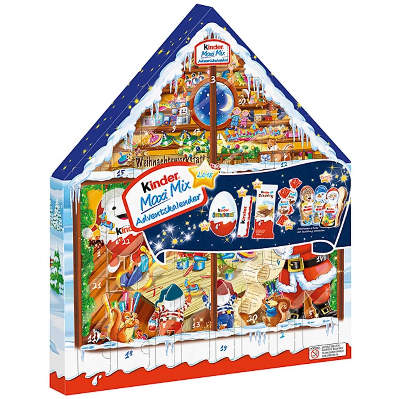 Ferrero Kinder Maxi Mix Advent Calendar 2018 351g Styles May Vary