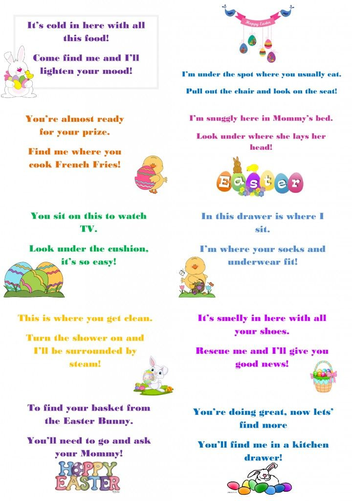 Make this easter egg stra special with egg hunt riddles easter hunt negle Choice Image