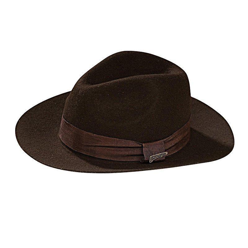 af07e2178befb Deluxe Indiana Jones Hat - Adult