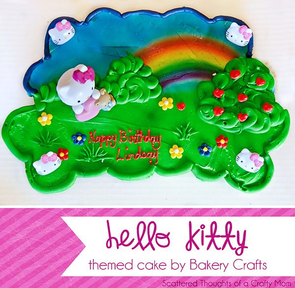 Hello Kitty Cake From Walmart Bakery Ms 5th Bday Pinterest