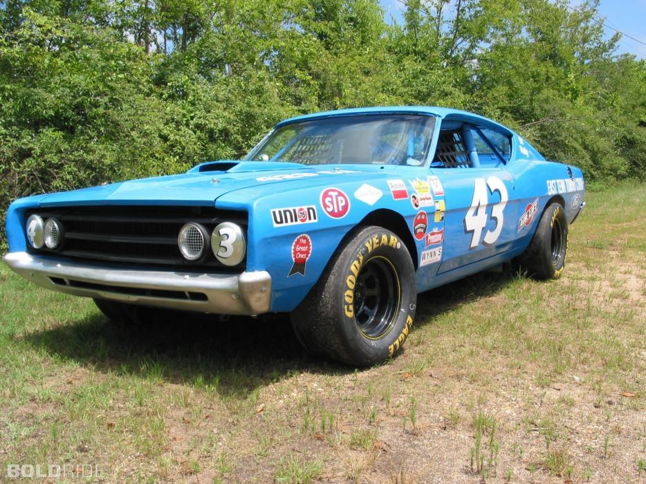 1969 Ford Torino Cobra 408 400 Hp Nascar Race Racing Classic