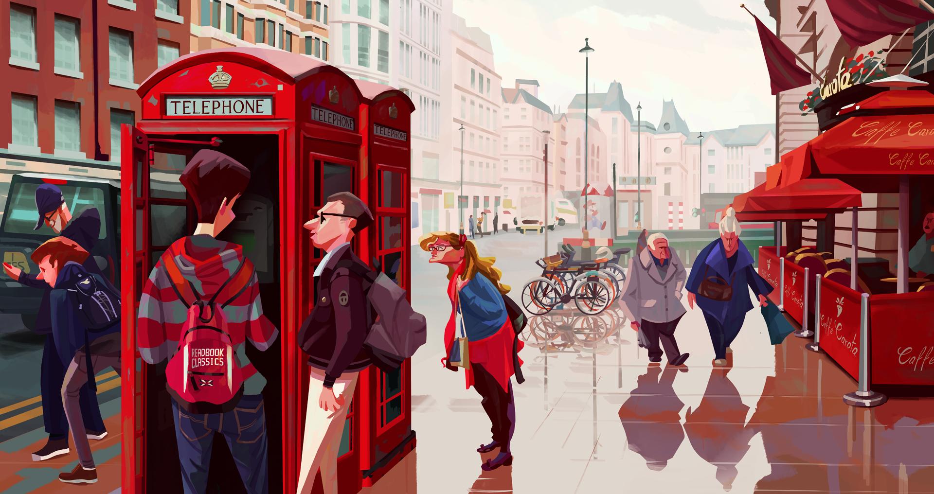 """다음 @Behance 프로젝트 확인: """"London"""" https://www.behance.net/gallery/45053187/London"""