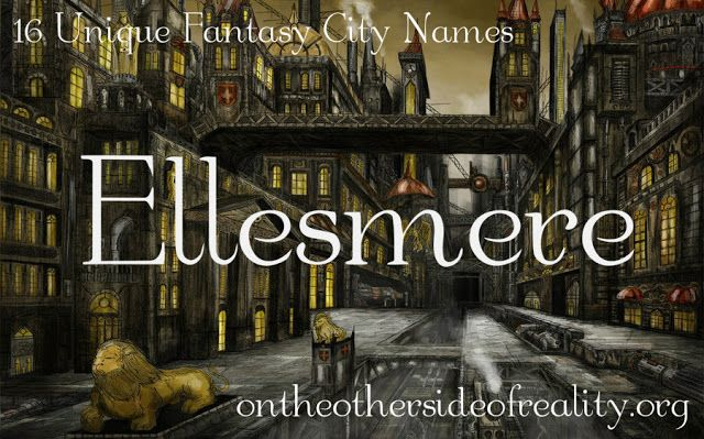 Haha Ellesmere is the name of my school and it ain't a