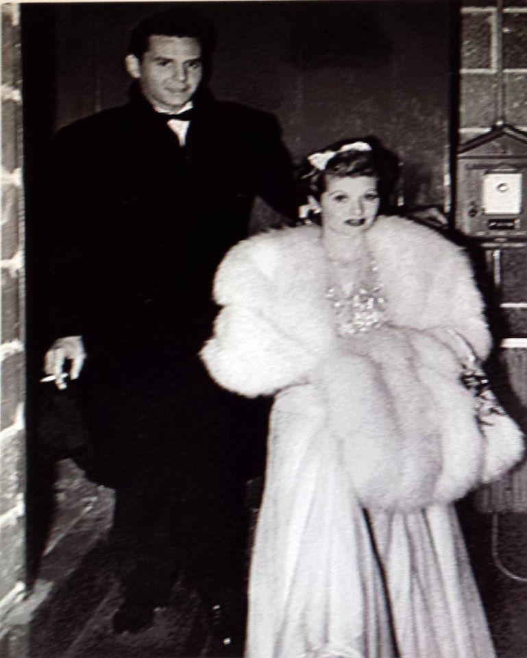Desi Arnaz & Lucille Ball 1940