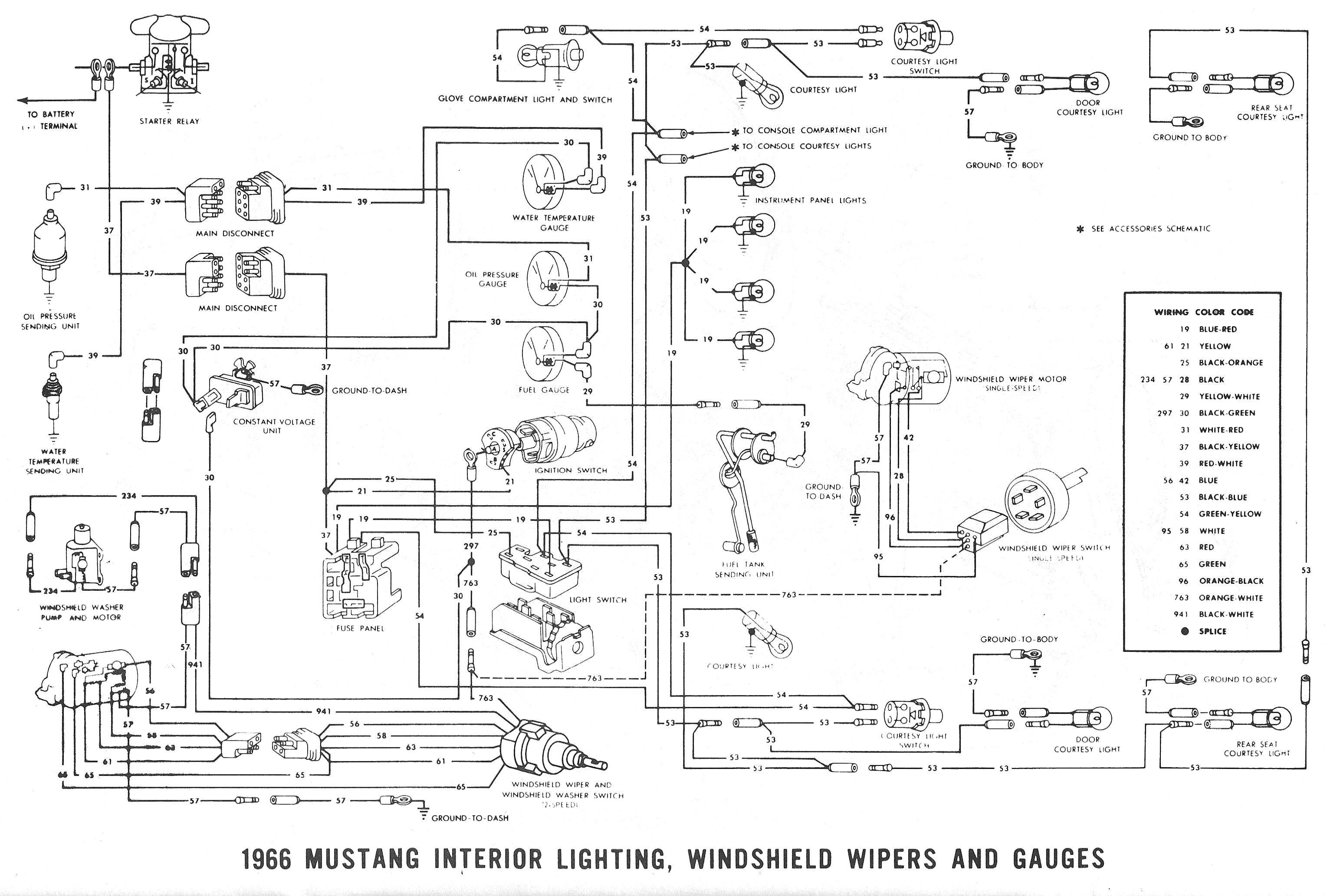 1980 Ford Mustang Headlamp Wiring