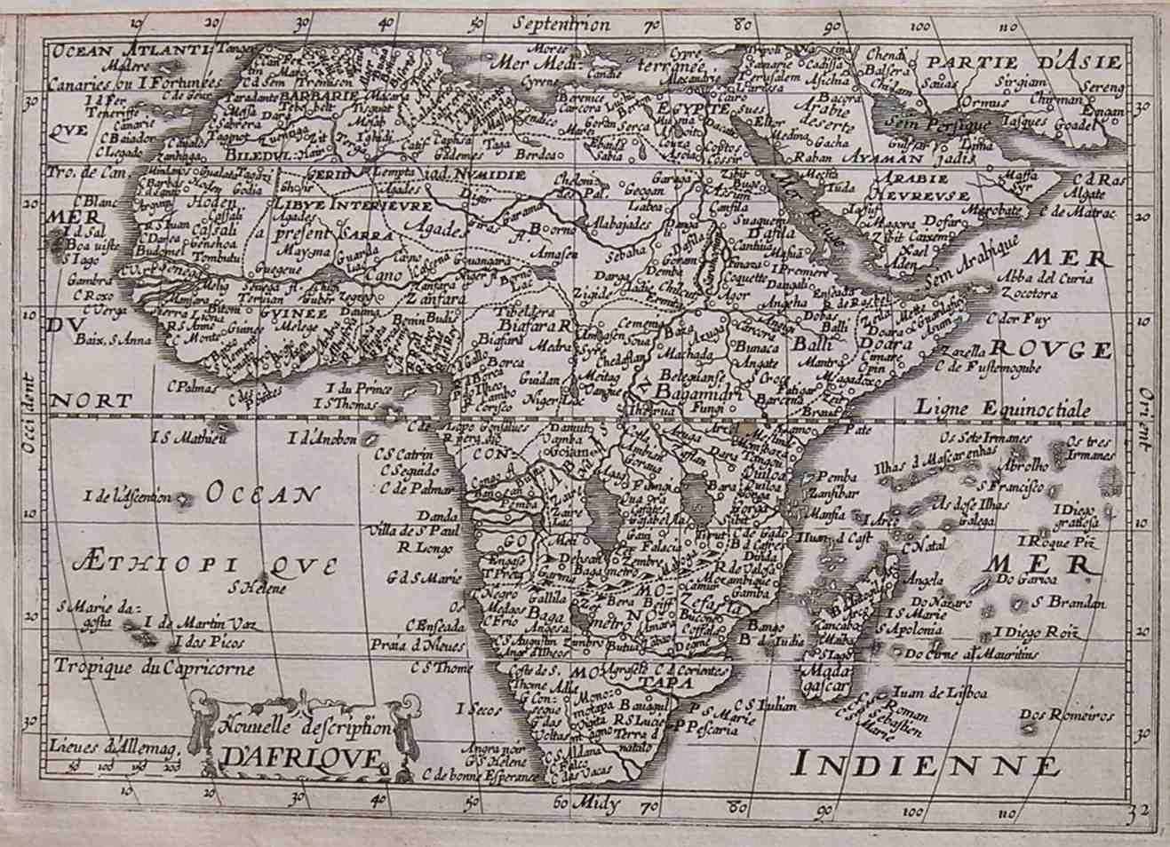 AFRICA NOUUELLE DESCRIPTION Du0027AFRIQUE Maphouse Antique