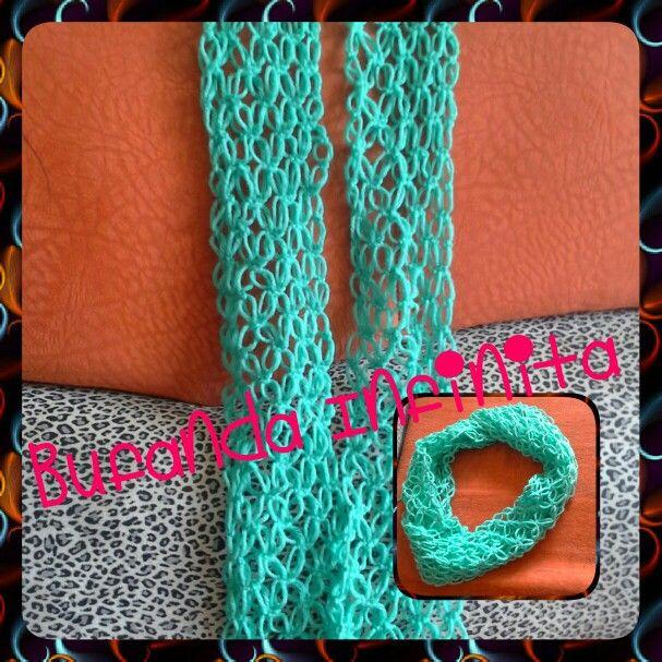 #crocheteando #bufandainfinita #infinite #scarf