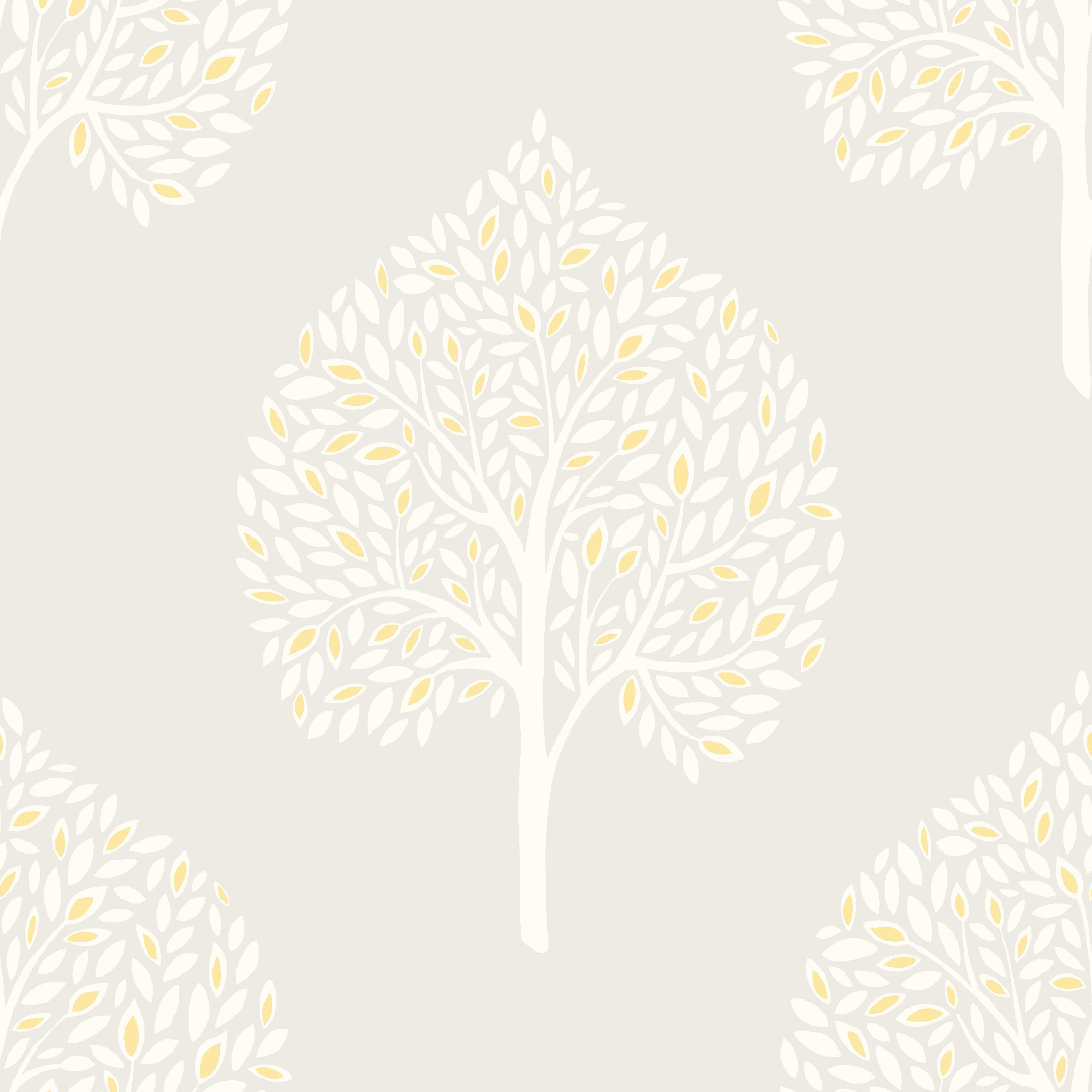 Rowan French Grey Trees Mica Wallpaper Departments DIY