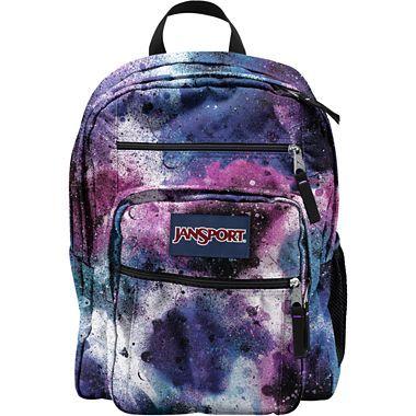 JANSPORT BIG STUDENT BACKPACK SCHOOL BAG - Multi Neon Galaxy ...