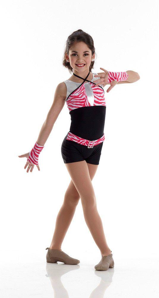 c4428e713add TRASHIN THE CAMP Boy Shorts Unitard w Gloves Acro Dance Costume ...