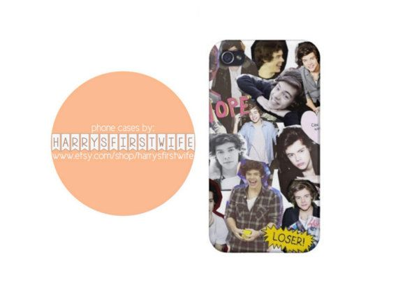 harry styles collage iPhone 4/4s 5/5s/5c & iPod 4/5 Case