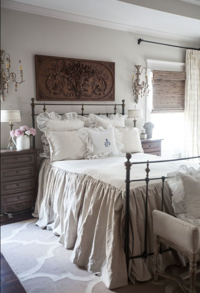 The 15 Most Beautiful Master Bedrooms On Pinterest Sanctuary Home Decor Country Bedroom Decor French Country Decorating Bedroom Country House Decor