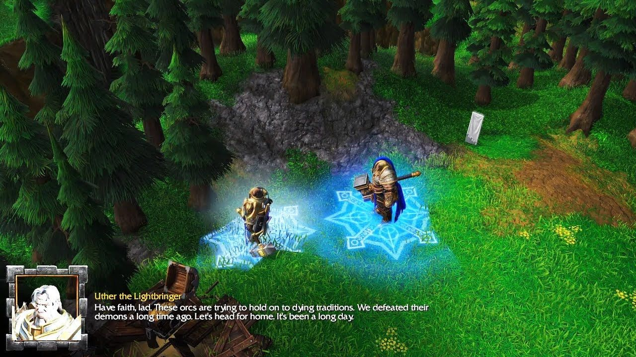 Warcraft 3 Reforged Human Campaign 02 Blackrock And Roll