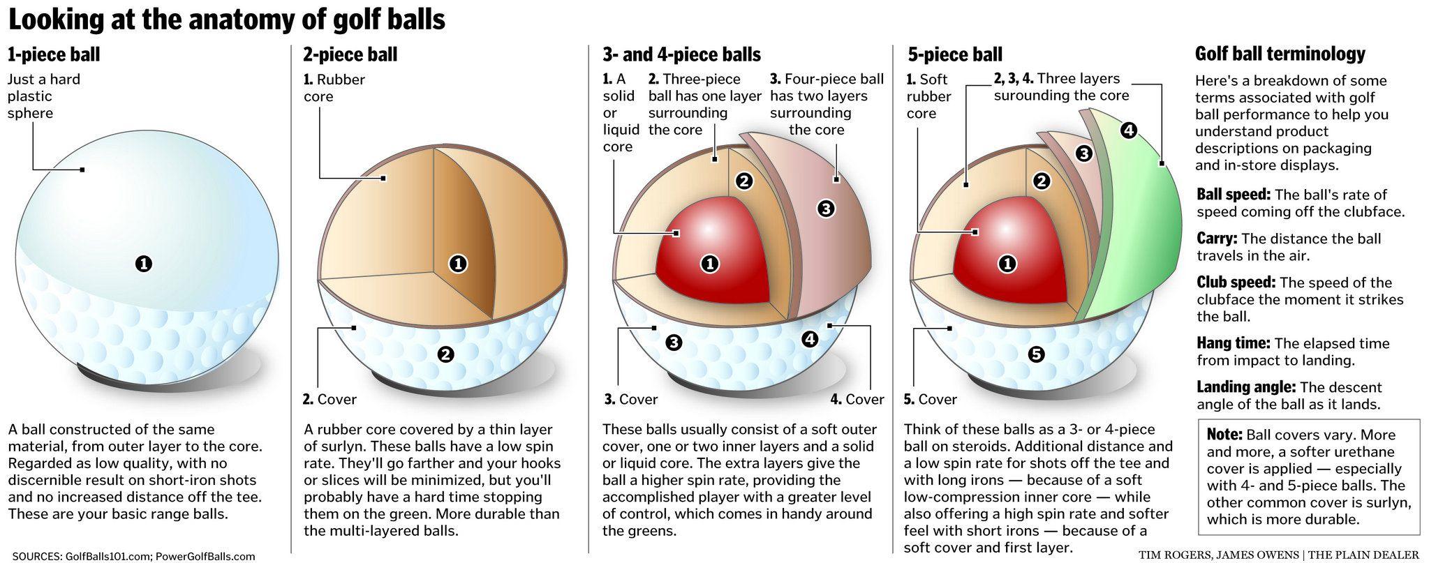 Anatomy of a Golf Ball #golf #girlswhogolf #golftips | Fairways ...