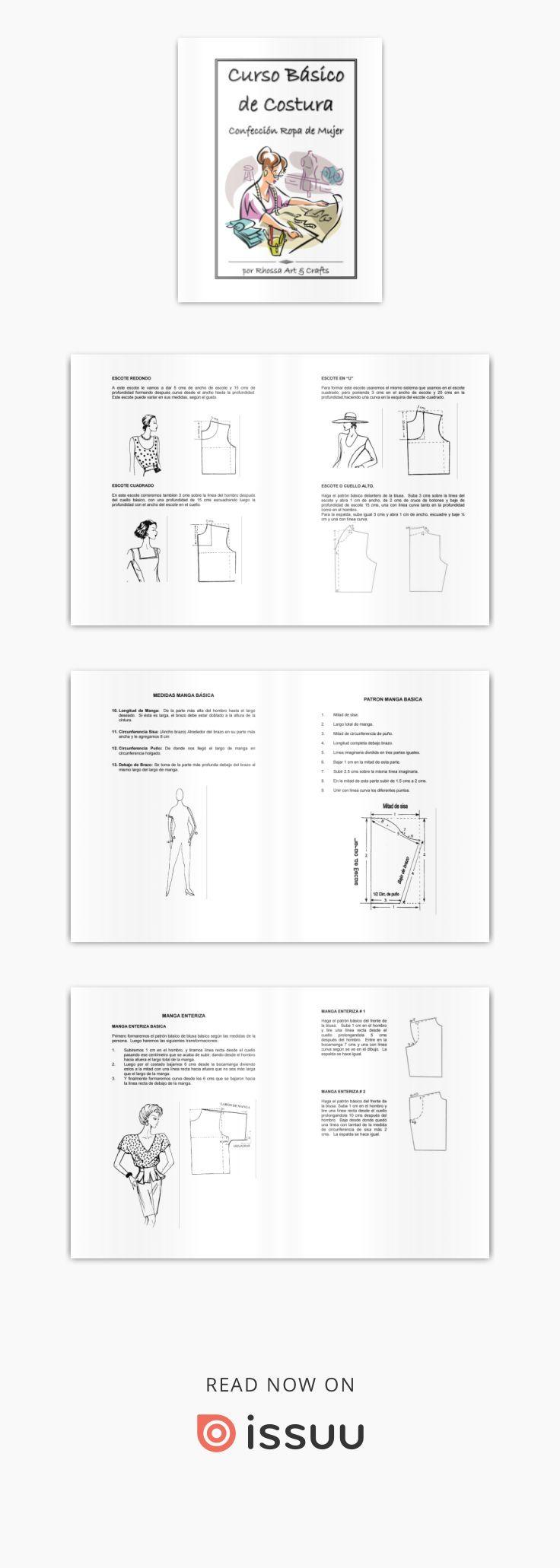 Rhossa art crafts curso basico costura confeccion ropa mujer ...