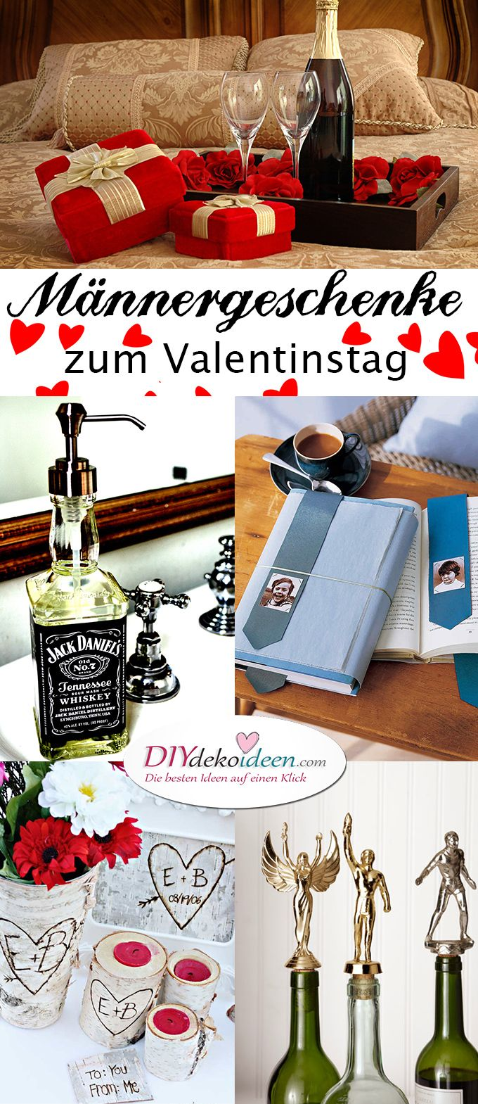 kreative diy bastelideen f r m nnergeschenke zum valentinstag diy valentinstag ideen. Black Bedroom Furniture Sets. Home Design Ideas