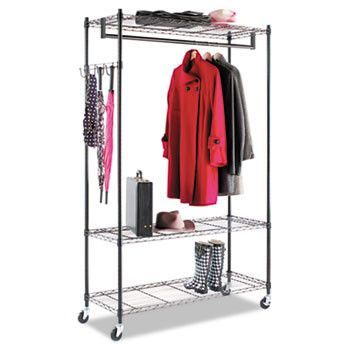 Wire Shelving Garment Rack Coat