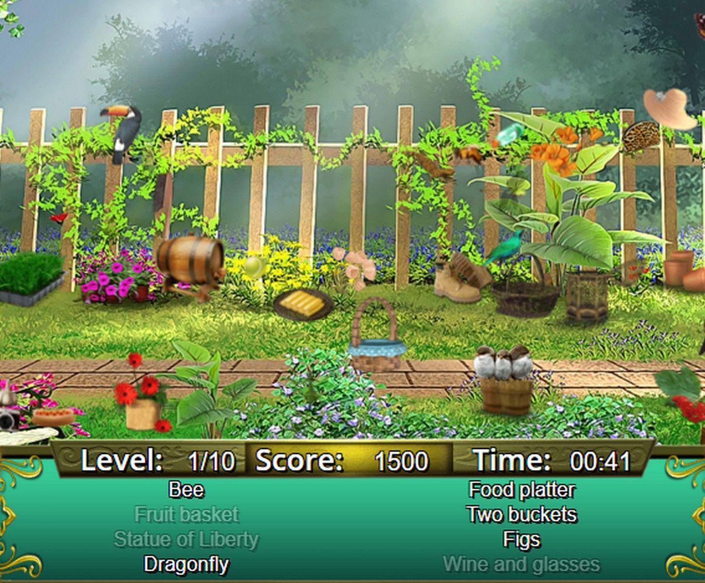 Garden Secrets Hidden Objects by Text Online games, Free