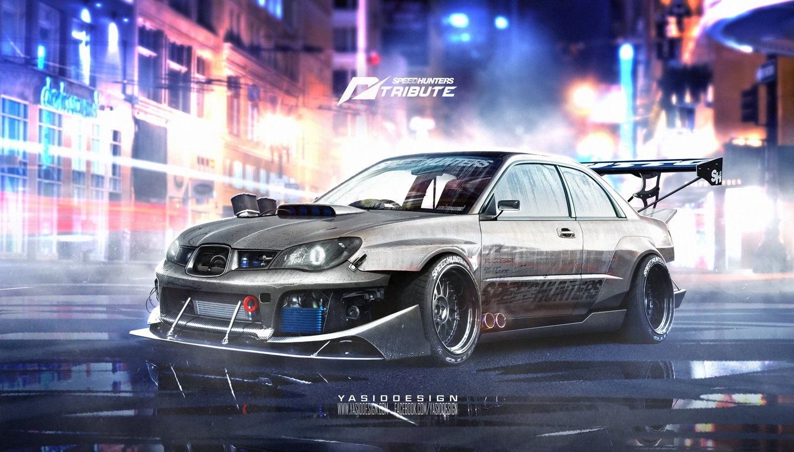 Artstation speedhunters mazda rx7 fd3s need for speed tribute yasid oozeear ilustra oes illustration pinterest rx7 mazda and cars