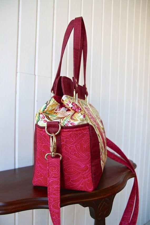 The Aster Handbag PDF Sewing Pattern | Taschen herstellen ...