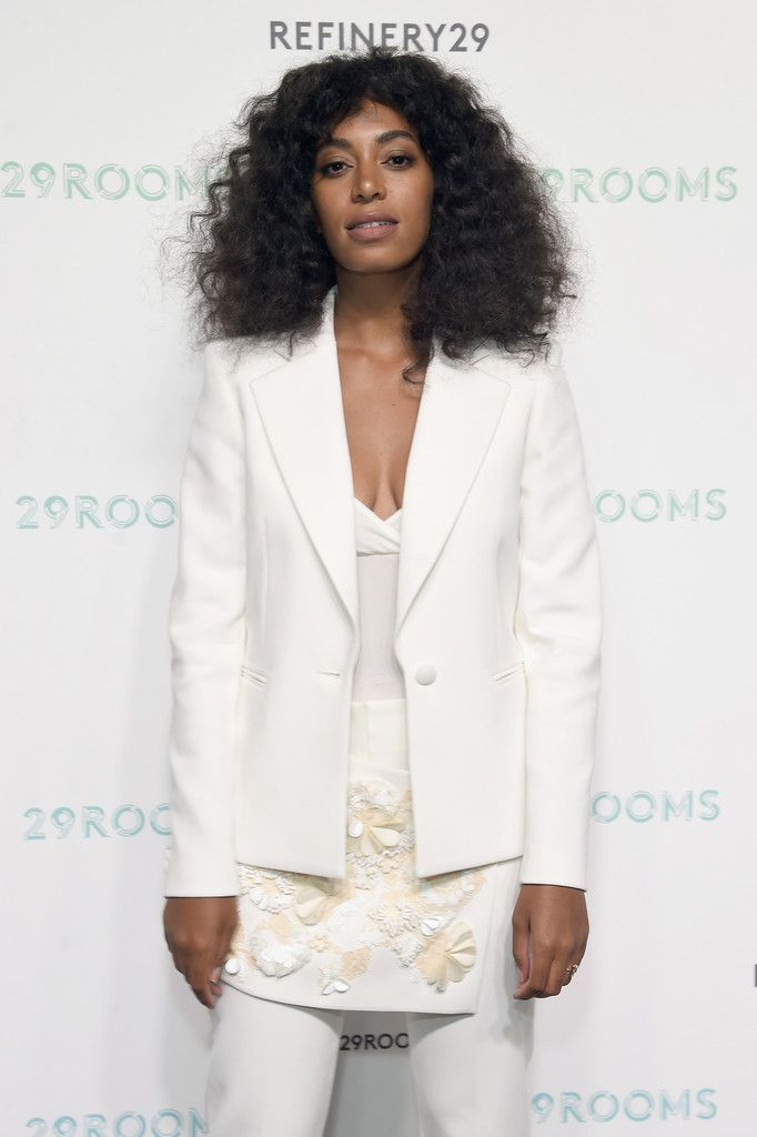 Solange Knowles attends the Refinery29 presentation of 29Rooms, a celebration of style and culture during NYFW 2015 on September 10, 2015 in Brooklyn, New York.