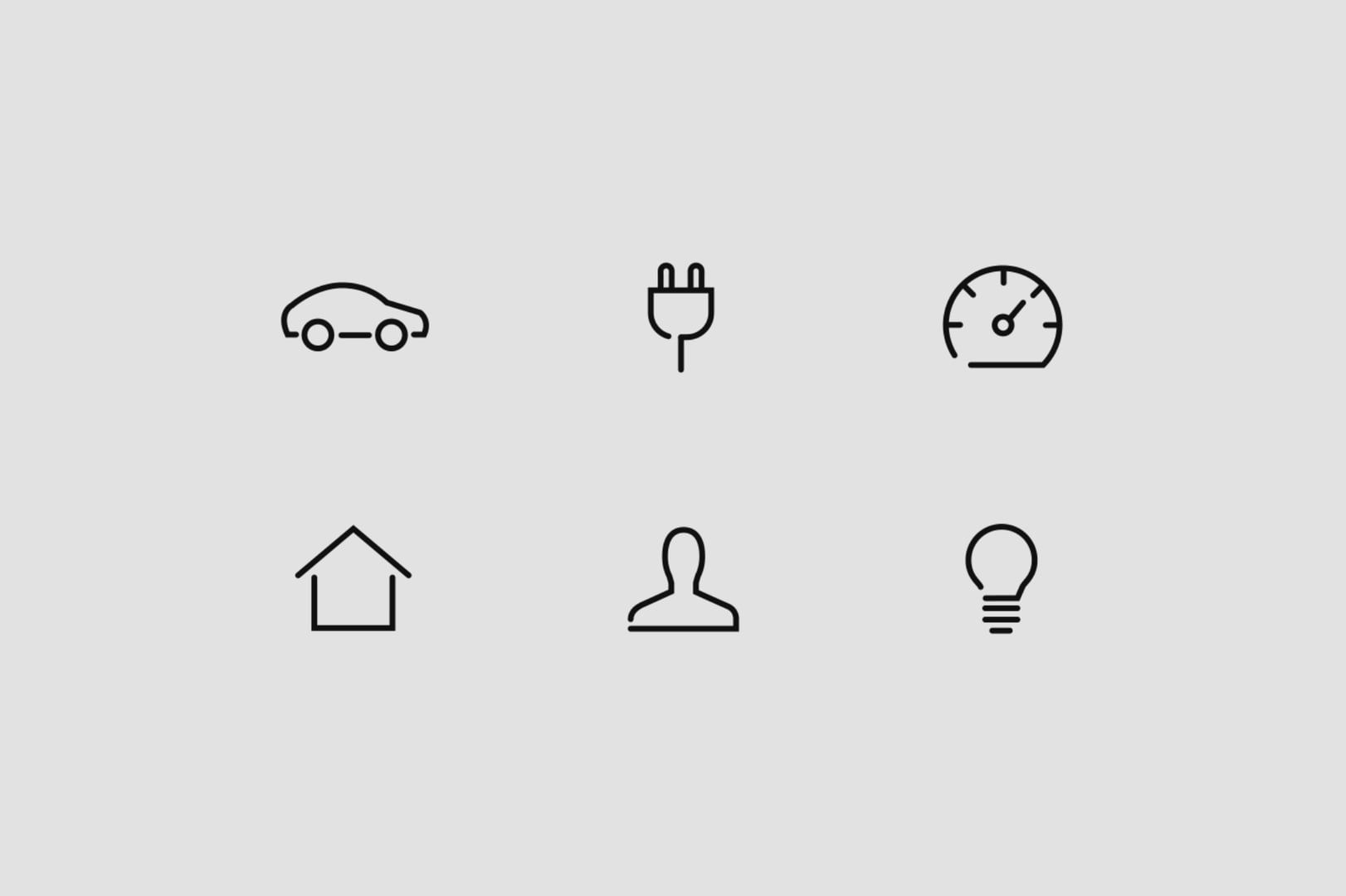 Hyundai car icon motion