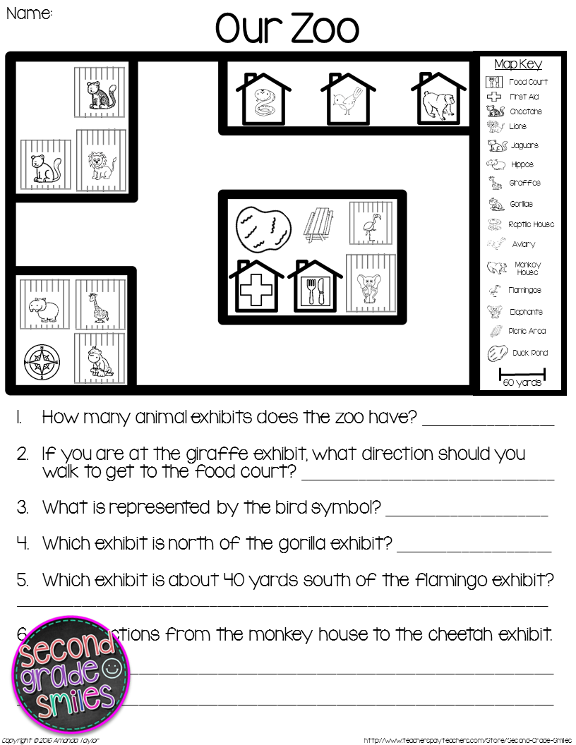 picture relating to Printable Map Activities titled Map Competencies Actions - Studying Maps Printables Map Creating
