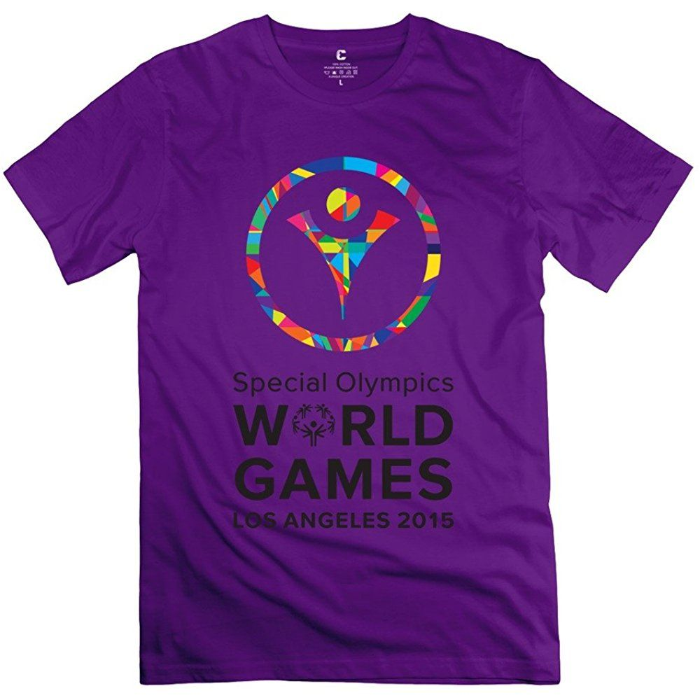 Funny Special Olympics World Sports Games 2015 Logo Mens