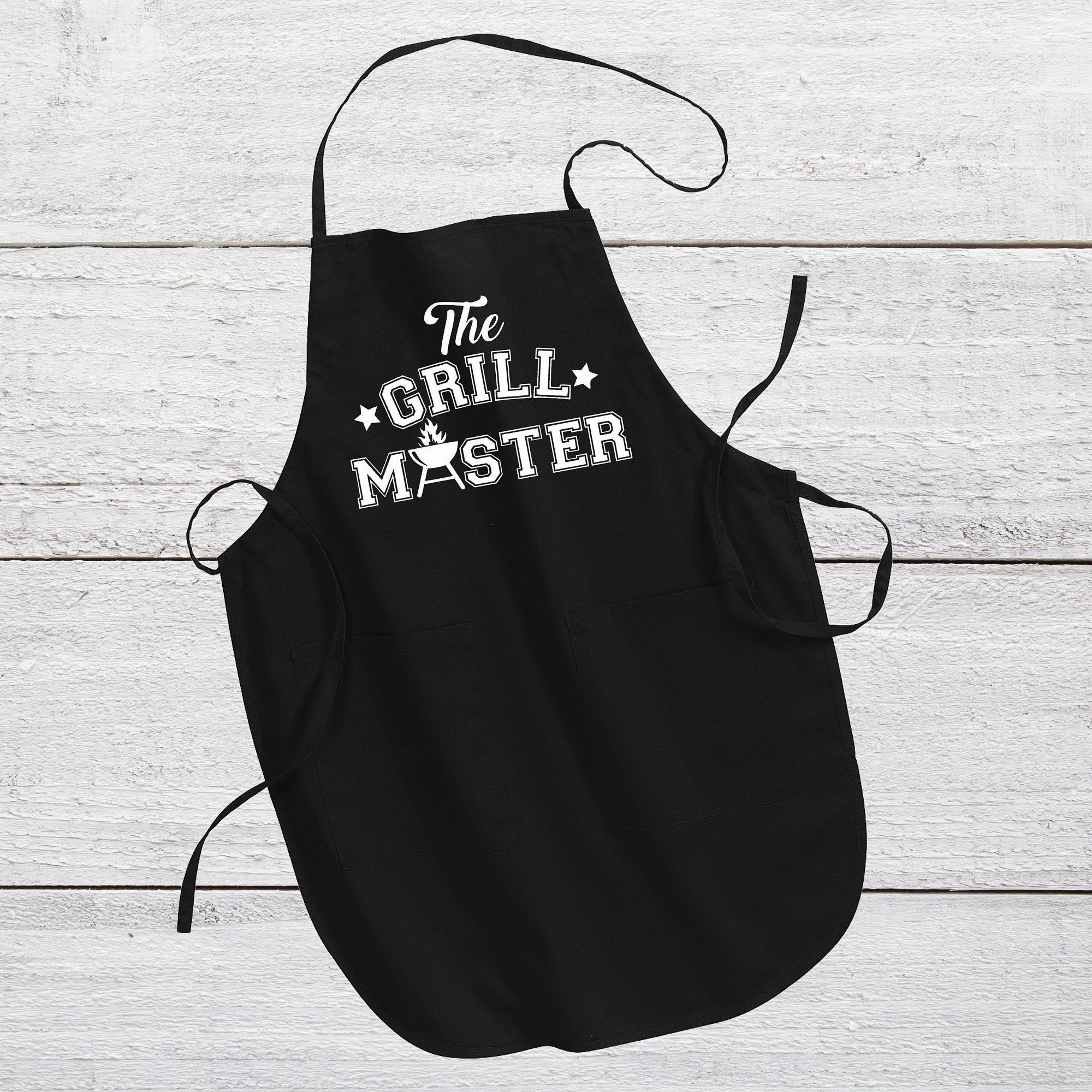The Grill Master Apron | Dad Apron | Father's Day Apron | Apron | Personalized Apron | Father's Day Gift | Dad Gifts | Grandpa Gifts