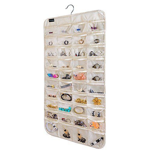 Brotrade Hanging Jewelry Organizer 80 Pocket For Holding Jewelries