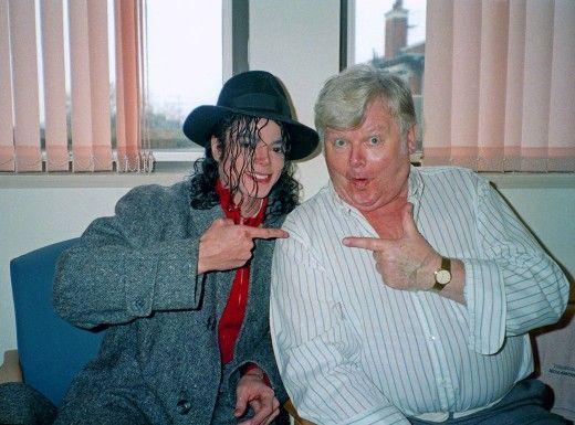 Michael Jackson and Benny Hill, 1988