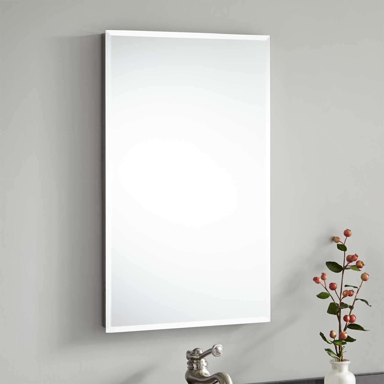 16 Rockcreek Recessed Medicine Cabinet With Beveled Mirror