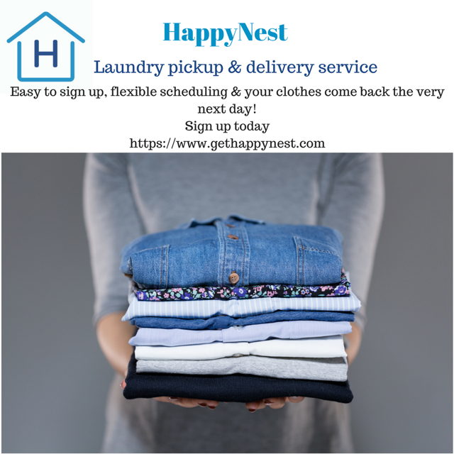 Laundry Pickup Delivery Service Laundry Business Laundry
