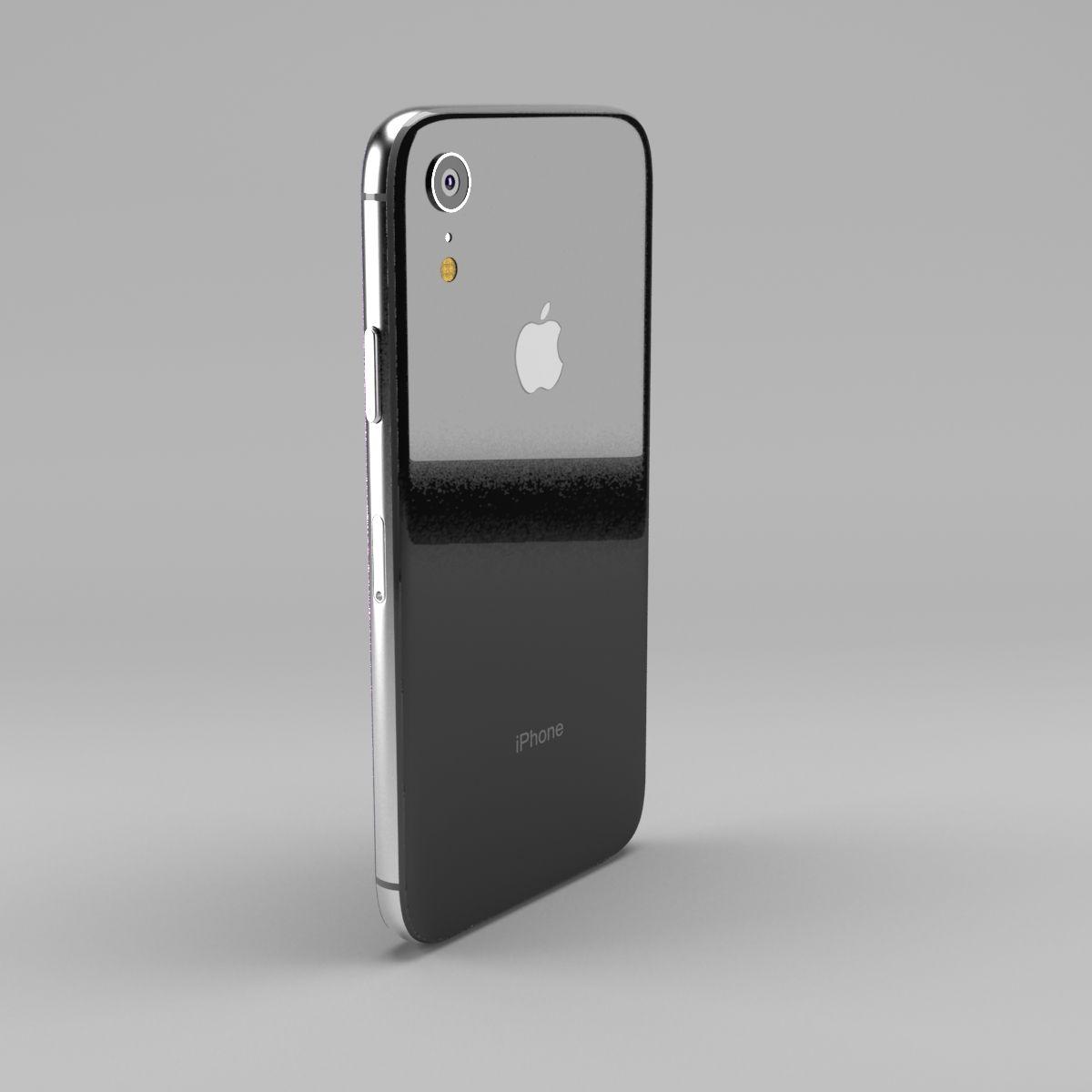 Apple iPhone XR 3d model iphone iphonexr iphone11