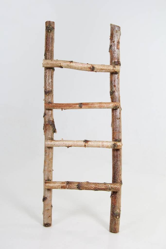 Houten Ladder Met Planten Door Haasje12 Old Ladder Decor Ladder Decor Home Decor