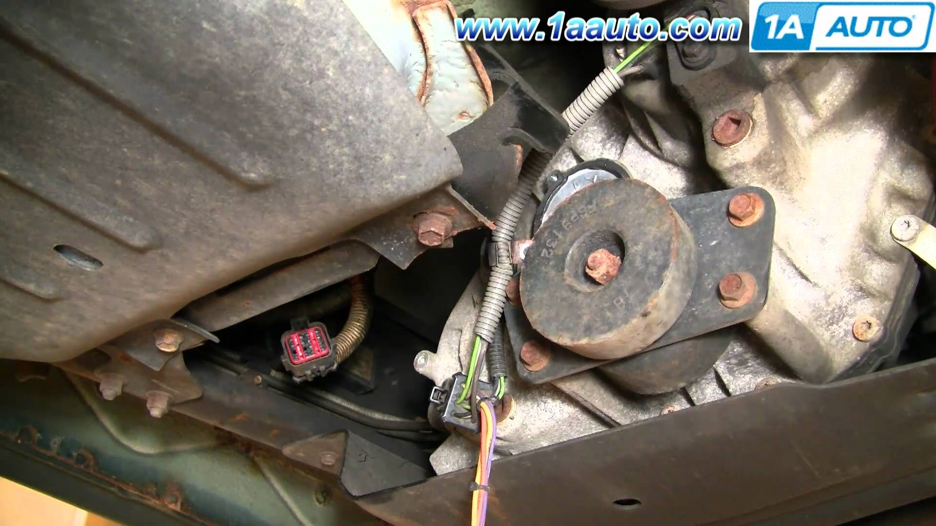 How To Install Replace 4x4 Transfer Case Shift Motor Ford