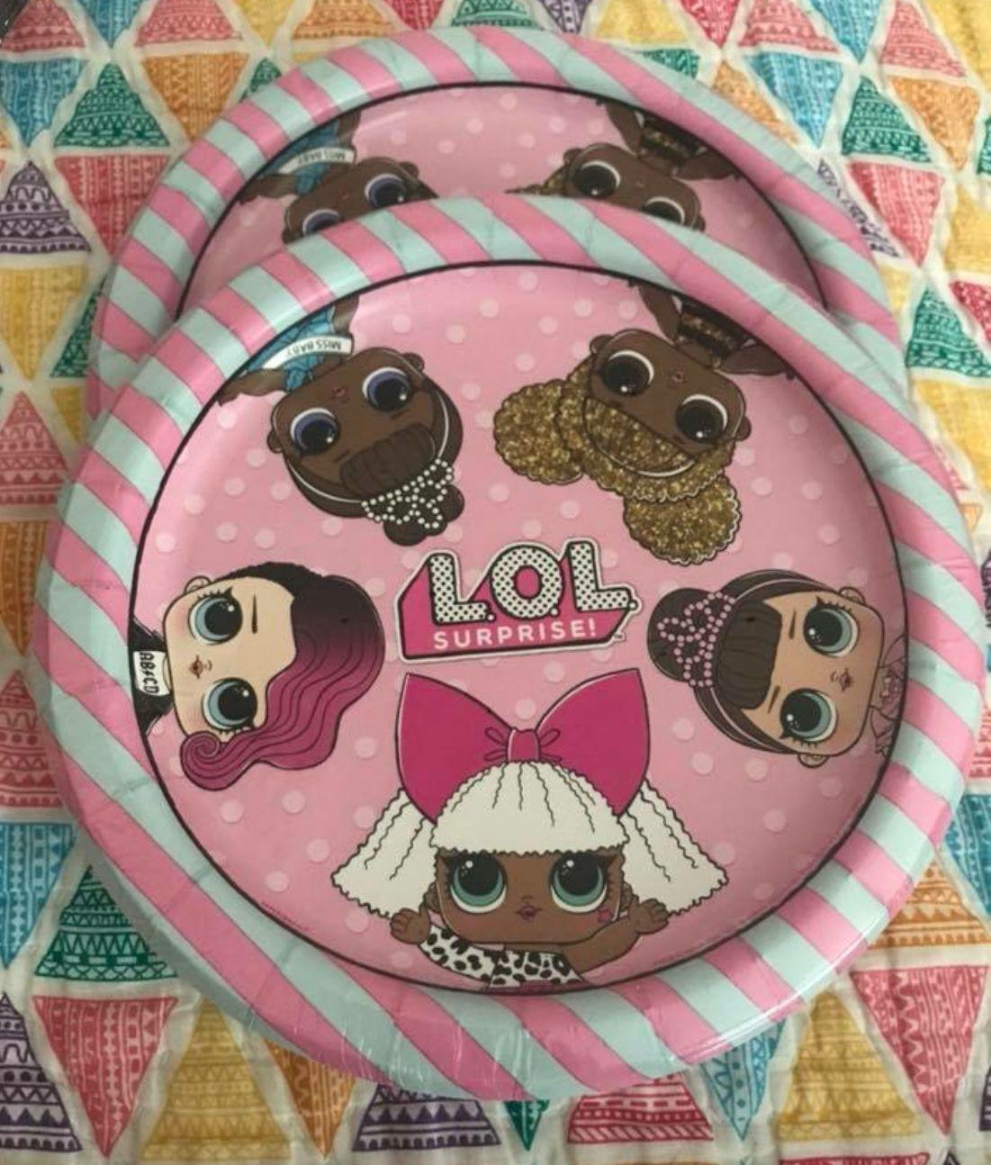 LOL Surprise Dolls Birthday Party Supplies LOL Surprise