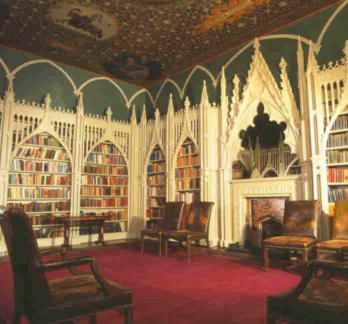 Gothic Revival Library