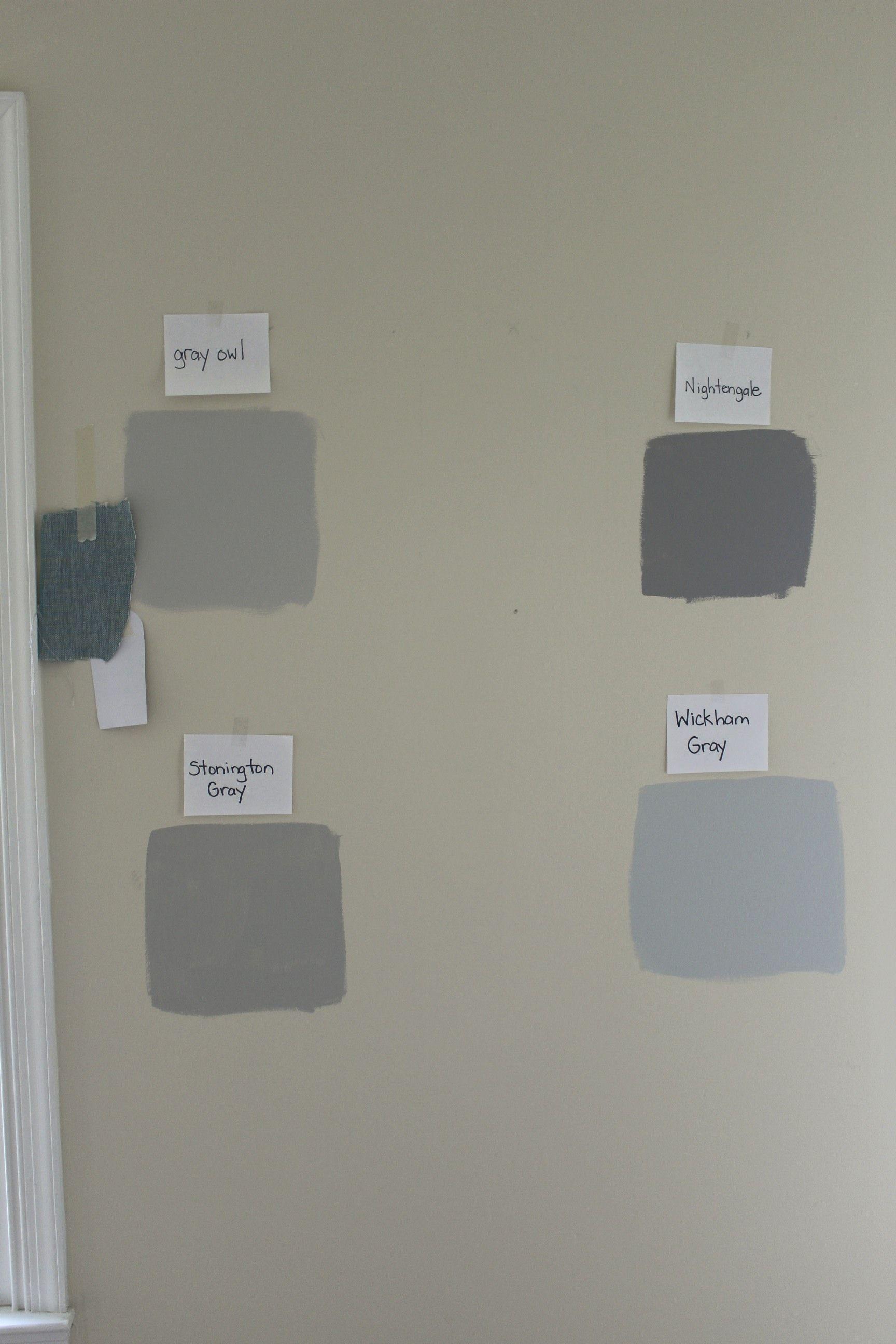 benjamin moore gray owl vs stonington gray | making a house a home