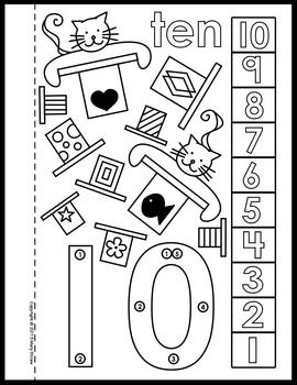 Dot To Dot Number Book 1 10 Activity Coloring Pages Printable Numbers Book Activities Coloring Pages