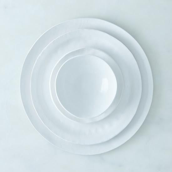 Handmade Porcelain Textured Dinnerware Perfectly Imperfect Food52 Handmade Dinnerware Organic Ceramics Ceramic Dinnerware