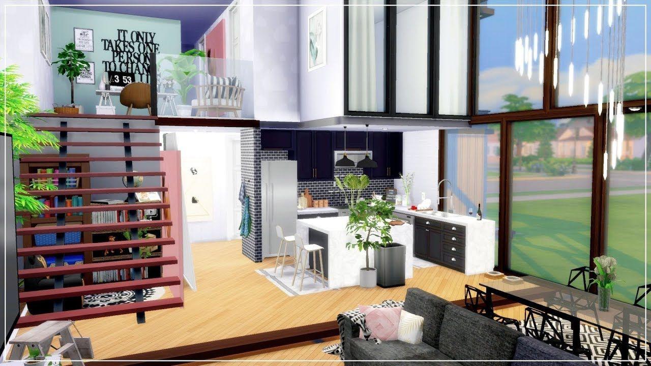 Aesthetic Mansion Bloxburg Speed Build