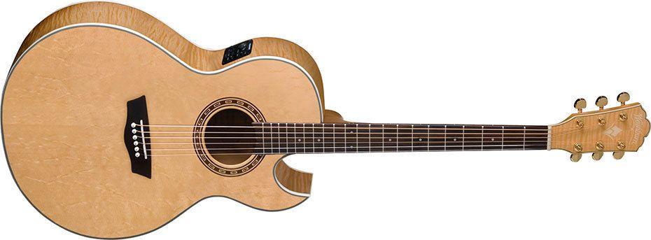 Washburn Cumberland Series Ea40sce Acoustic Guitar Guitar Washburn Acoustic Guitar Washburn