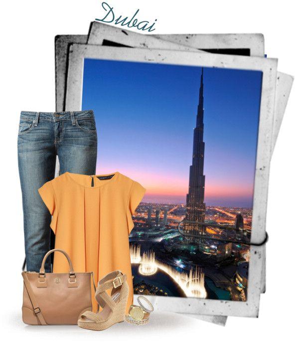 """Dubai"" by deda-83 ❤ liked on Polyvore"