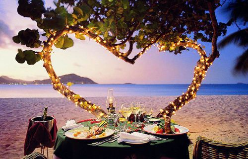 Image result for romantic dinner date tumblr