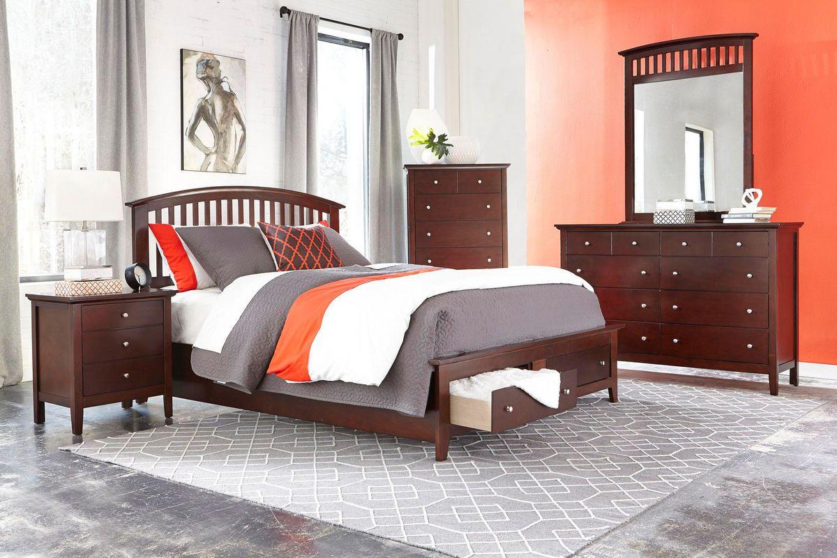 Mason 5 piece queen bedroom set from gardner white furniture 899 99