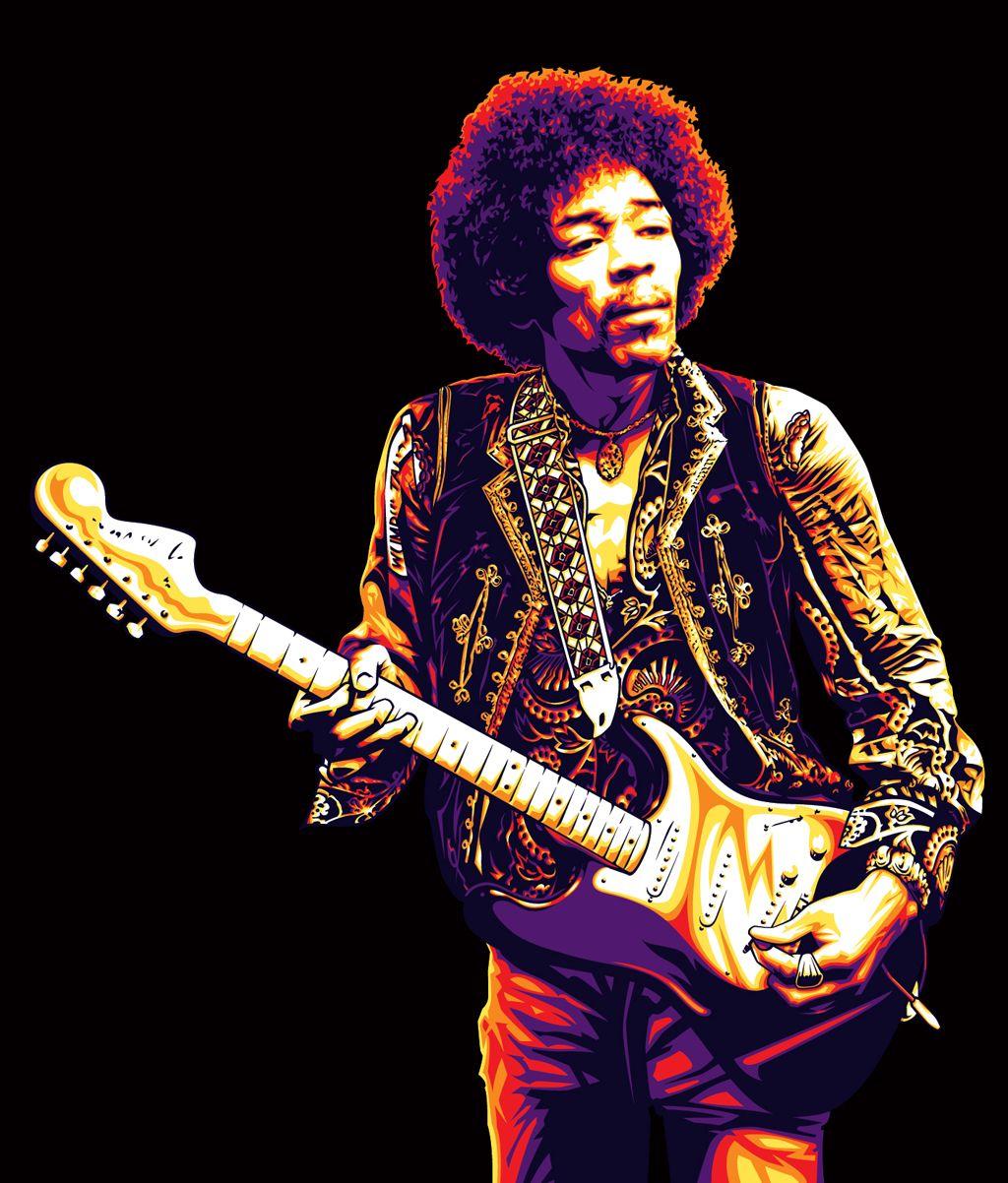 Resultado de imagen de Jimi Hendrix