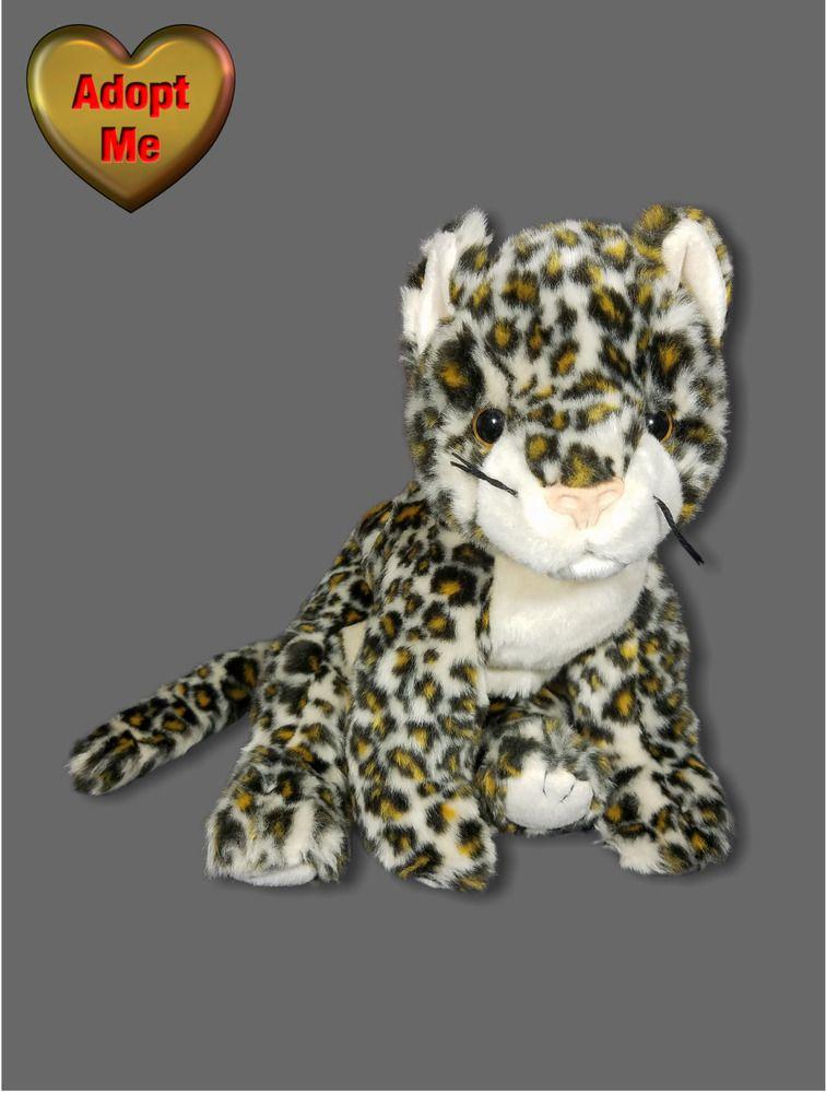 Ty Beanie Buddies Sneaky Leopard Stuffed Plush Safari African