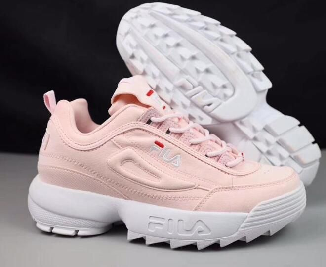 2017 Fila disruptor II 2 новые женские кроссовки Женская спортивная обувь  нескользящие демпфирования летняя уличная Size36 41 купить на AliExpress feb66bf8c5e4a